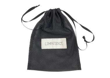 Cina 24x32.5cm Velvet Drawstring Bags Hair Extension Packaging Mesh Warna Disesuaikan pabrik