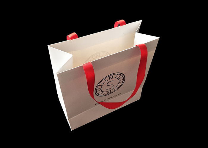 Biodegradable Shopping Personalized Paper Bags Garments Luxury Paper Branded pemasok